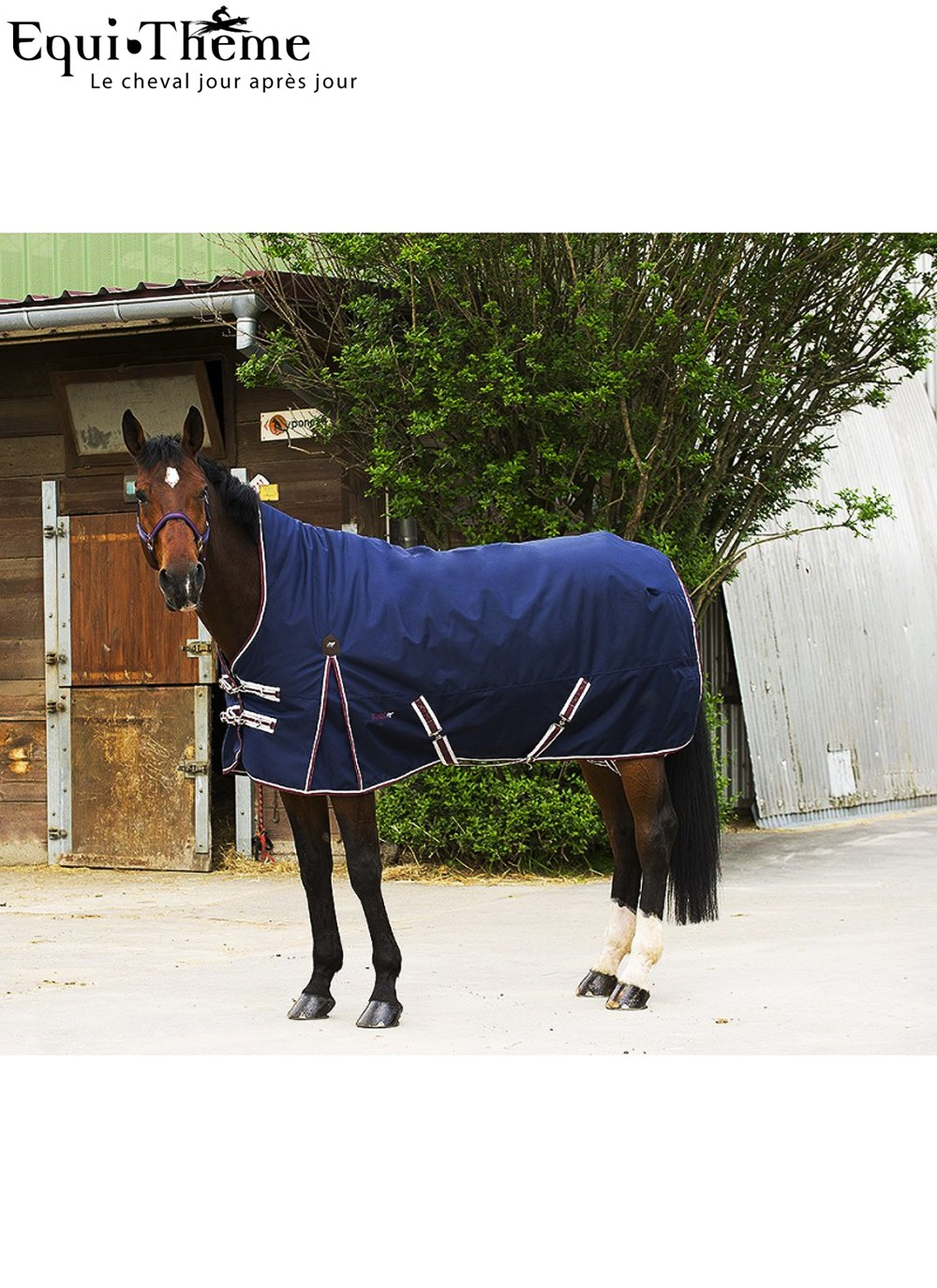 Equit M 1680 D 300 G High Neck Rug